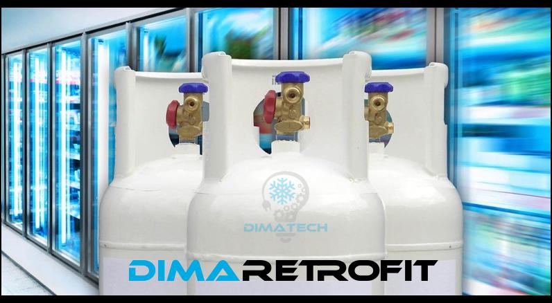 retrofit impianti esistenti con refrigeranti alternativi